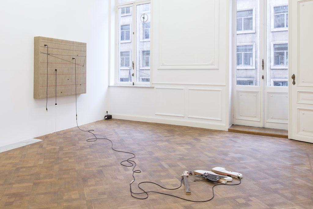 Naama Tsabar, Dedicated, 2018, installation view