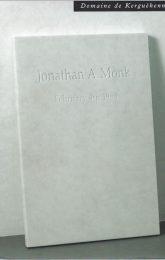 Jonathan Monk_Jonathan Monk_2006_Domaine de Kerguehennec