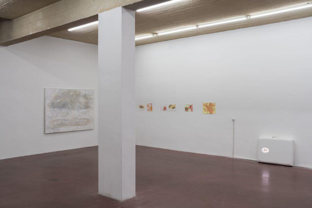 Mort à crédit, 2018, exhibition view, Dvir gallery, Tel Aviv