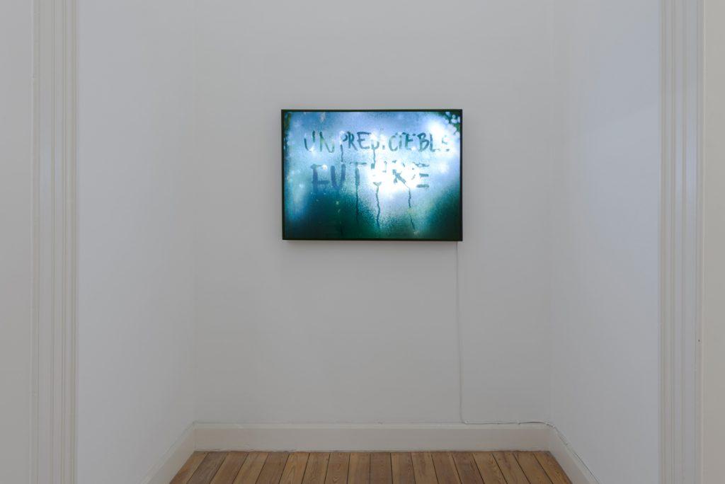Mircea Cantor, Unpredictable Future, 2015, lightbox, 70 x 100 cm, edition of 7
