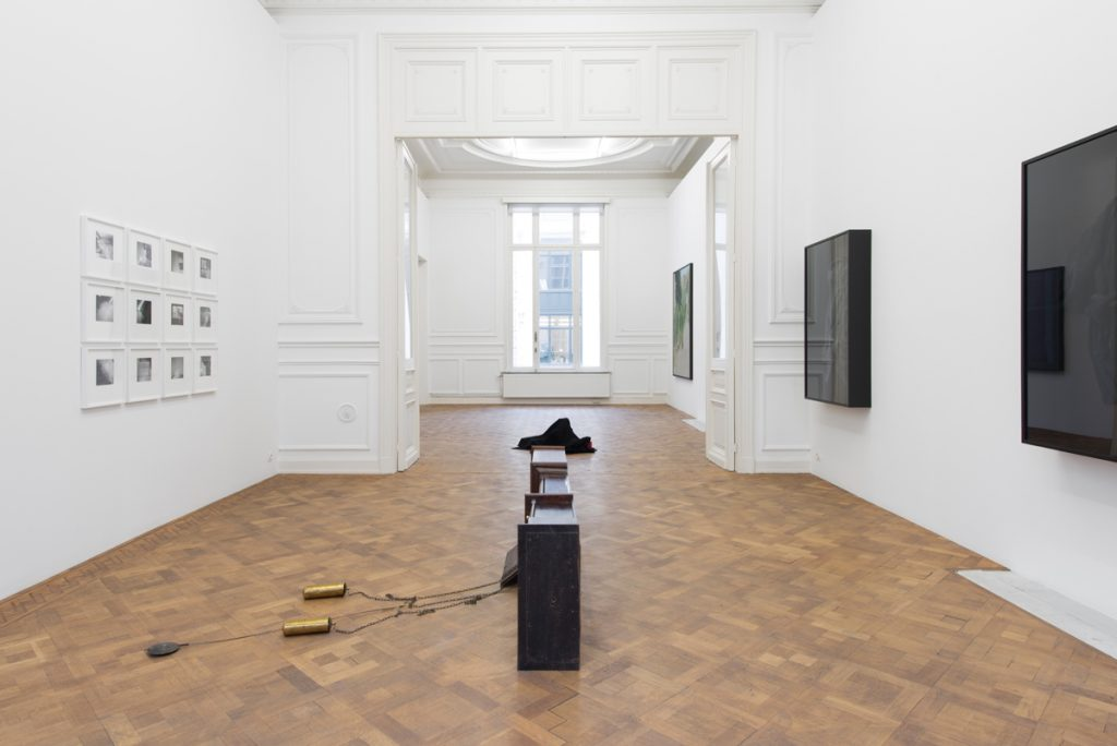2817, homage to Georges Perec, 2019, exhibition view, Dvir Brussels