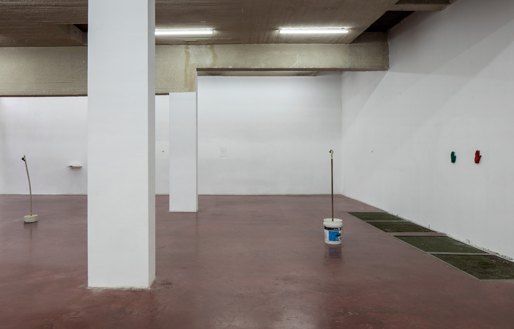 Shai-Lee Horodi, Blue Woman with a Red-Greenish Vagina, 2019, Exhibition View