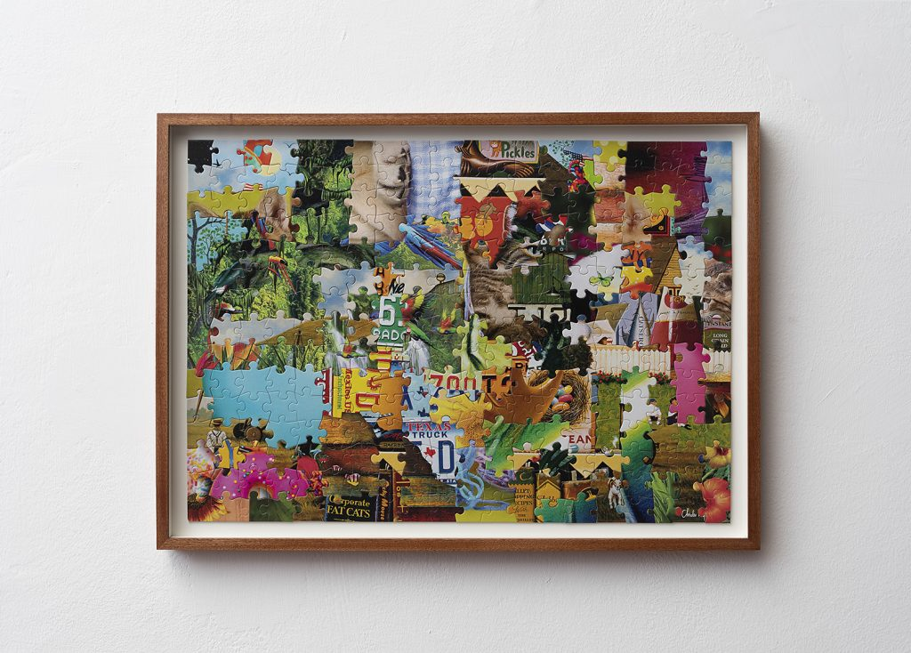 Shai-Lee Horodi, Untitled, 2019, Jigsaw puzzles, 59.5 x 43.2 cm, 7 versions