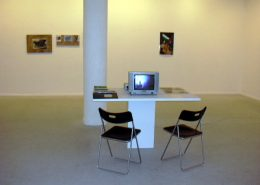 Guess who died, 2003, exhibition view