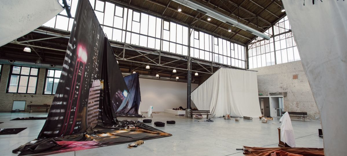 'The Sun and the Set', 2020, exhibition view, BPS 22, Charleroi