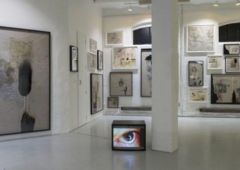 Douglas Gordon, Paradise, 2021, exhibition view, 12