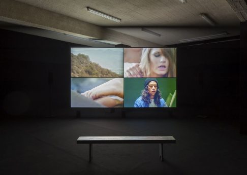Omer Fast, Everything that rises must converge, exhibition view