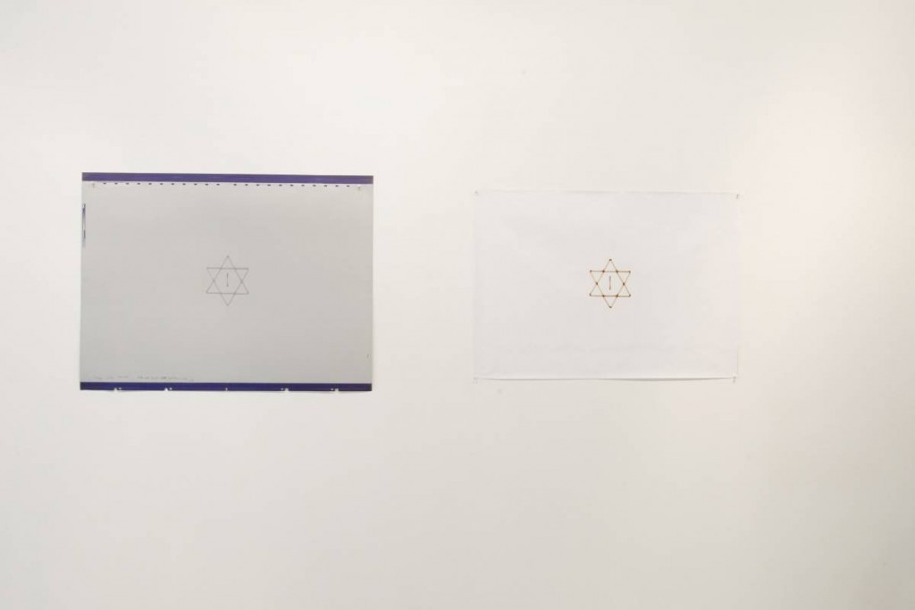 Mircea Cantor, Untitled, 2006, Plaque, 103.5 x 77 cm