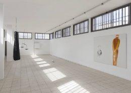 Reclining Seurat, 2013, Exhibition view