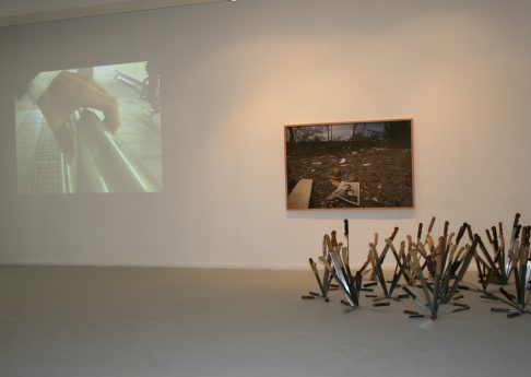It Won't Stop Until We Talk, 2009, Exhibition view