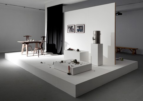 Rehearsal for a Reunion, 2012, Exhibition View