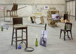 exhibition view, 'Ghost Rider', 2010, Dvir Gallery, Tel Aviv