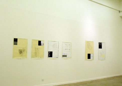 Perhaps the heart, 2009, Exhibition view