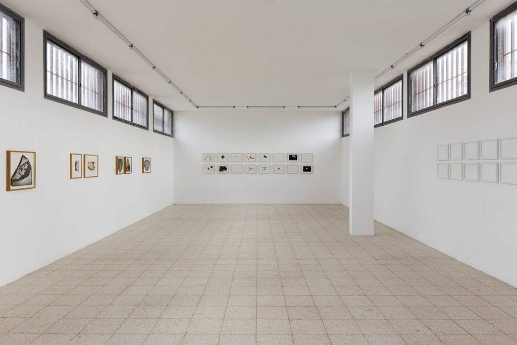 Works on Paper, 2014, exhibition view, Dvir Gallery, Tel Aviv