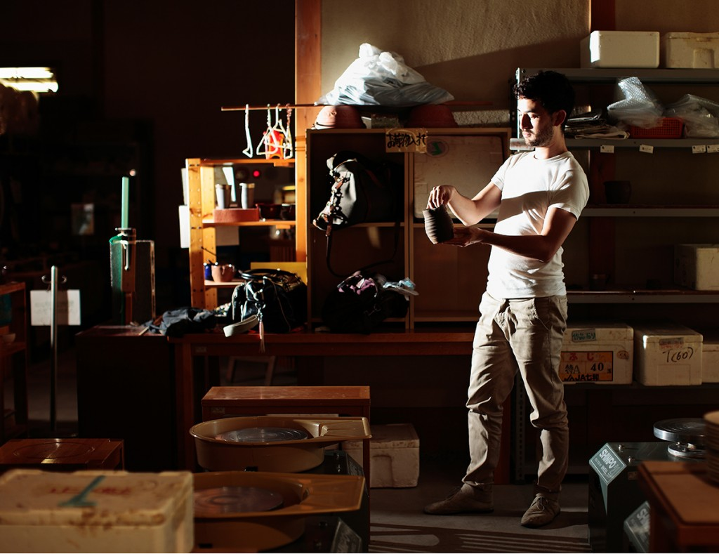 Simon Fujiwara, Scenes from a Reunion I, 2011-2012, set of two photographs, 41 x 52.5 cm, edition of 3