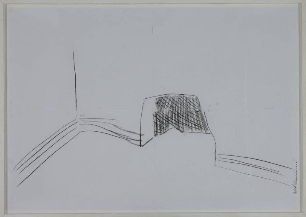 Adel Abdessemed, Abris Anti Atomique 2, 2006, 130x200 cm