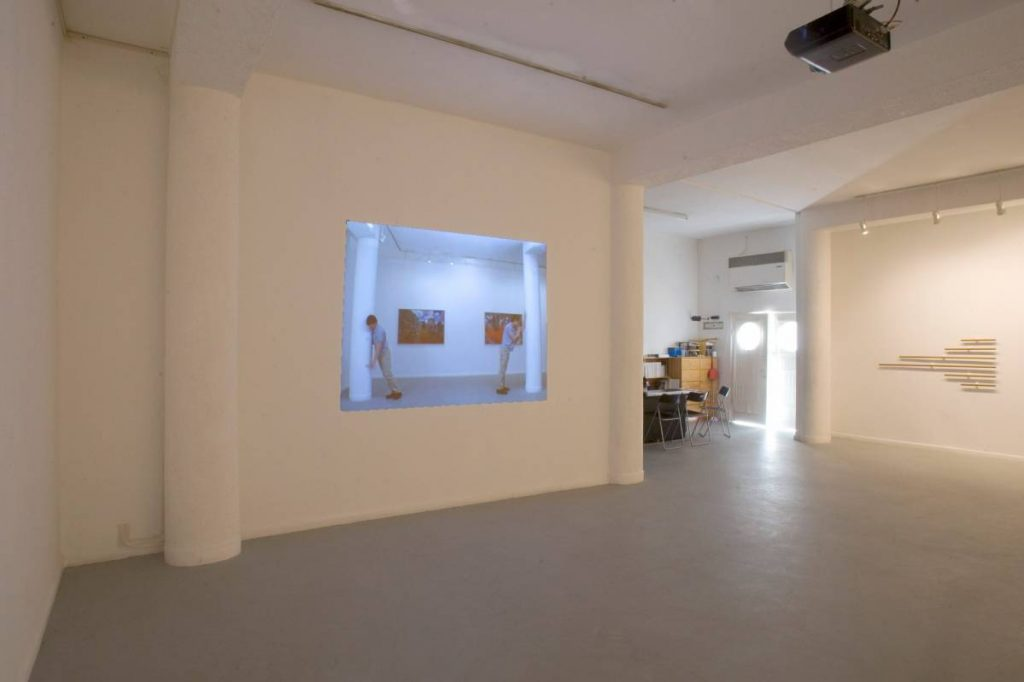 Missing Man Formation, 2008, Exhibition view