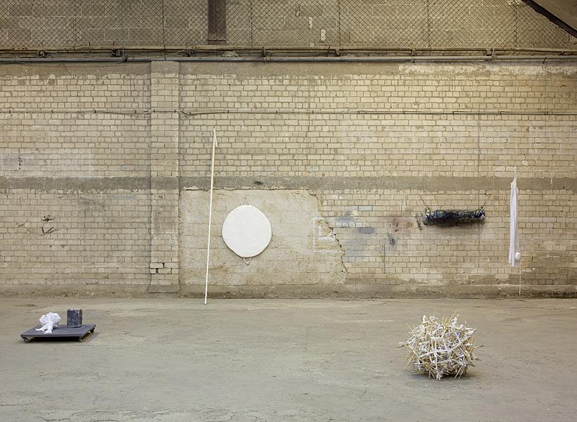 Between Chapters, 2011, exhibition view