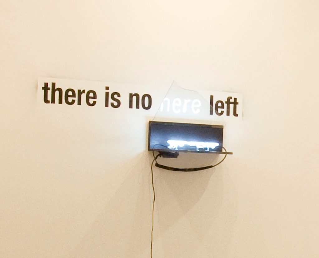 Miri Segal, There is no there left, 2008