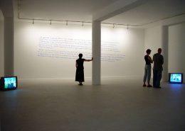 Negotiations, 2003, exhibition view