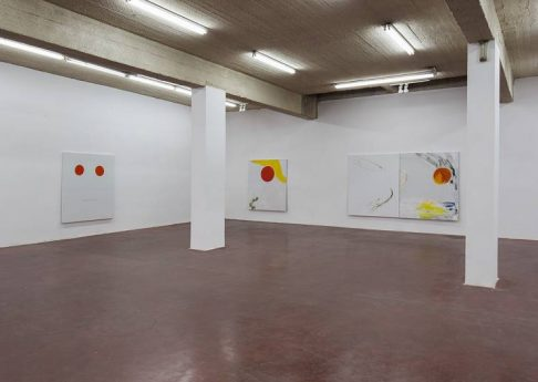 New Paintings, 2015, Exhibition view