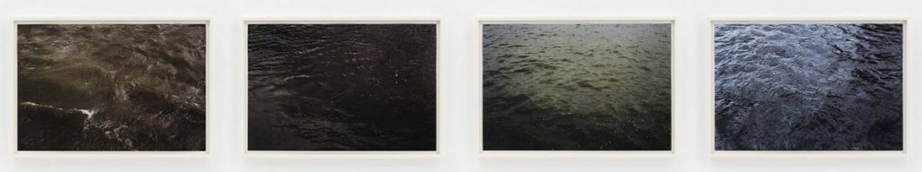 Roni Horn, From Some Thames, 2000, photograph printed on paper, UV Lacquer, 72.4 x 103.5 cm, 4 units, each, edition 5 of 8