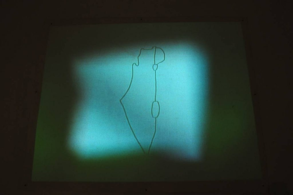 Shilpa Gupta, 100 Hand drawn Maps, 2010, video projection, edition of 5 + 2 AP