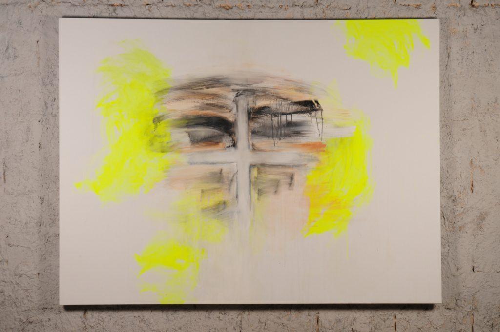 Yudith Levin, White phosphorus, 2010, acrylic on canvas