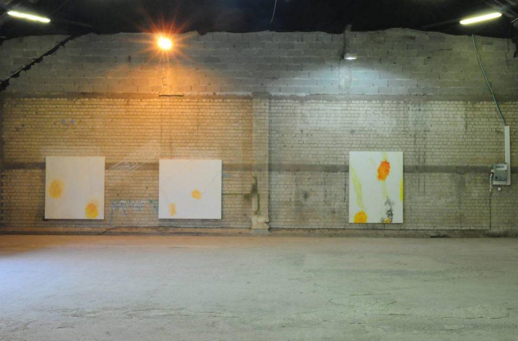 White Phosphorous, 2010, Exhibition view