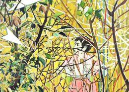 'Big entanglement 1', 2006, oil on canvas, 120 x 90 cm, unique