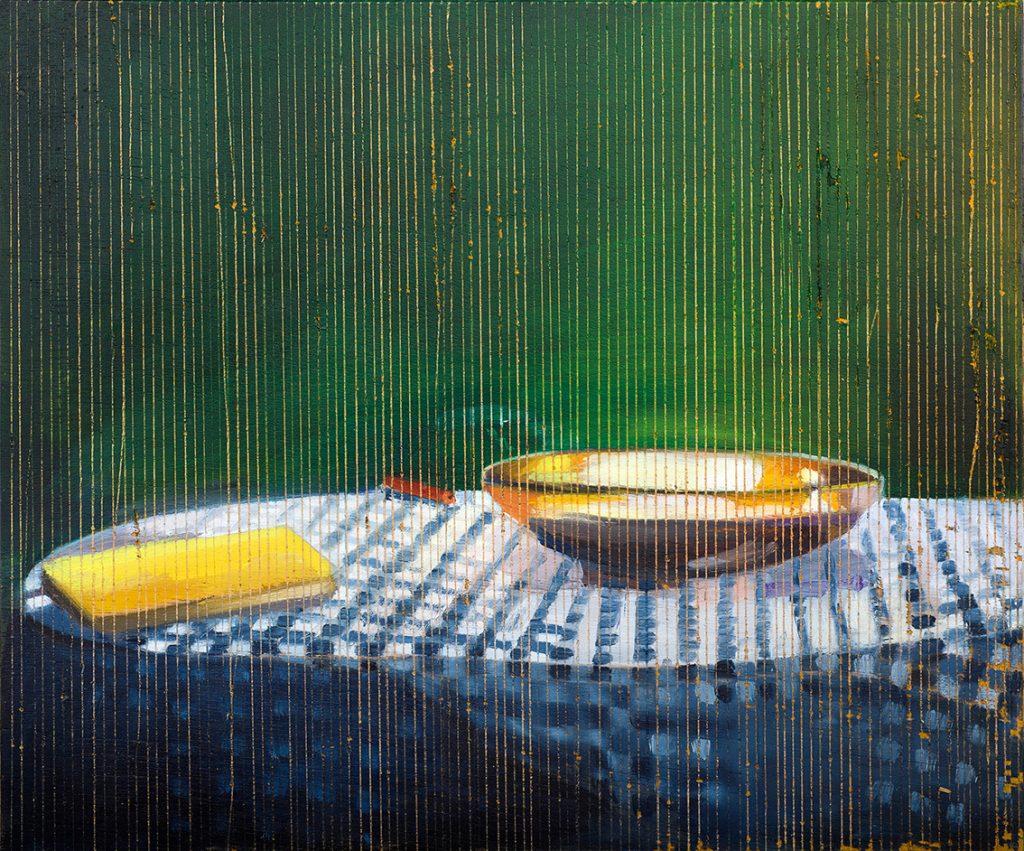 Vered Nachmani, Ohad 5, 2014, oil on wood, 25 x 30 cm