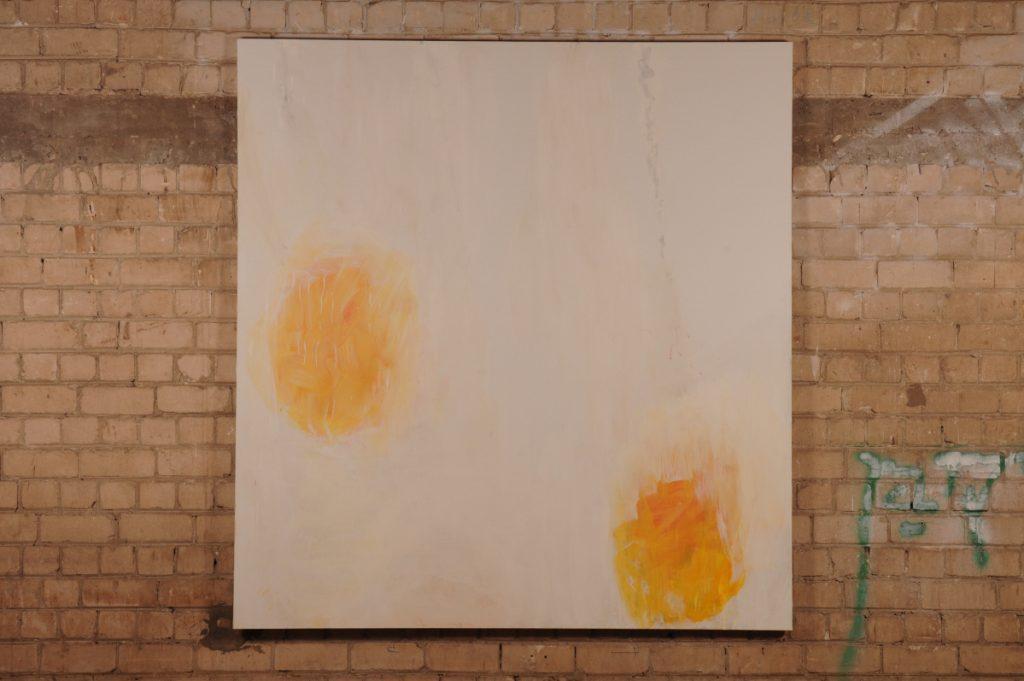Yudith Levin, White phosphorus 1, 2010, acrylic on canvas