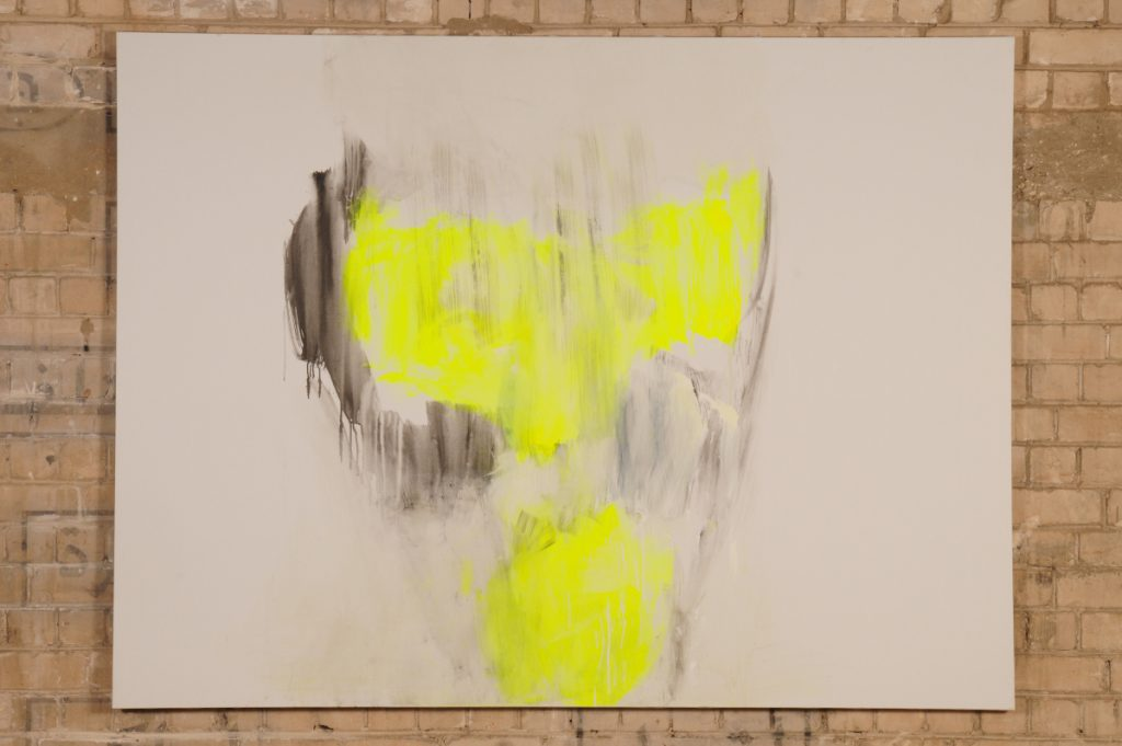 Yudith Levin, White phosphorus 6, 2010, acrylic on canvas