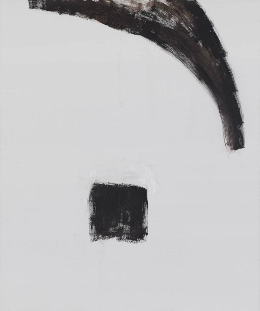 Yudith Levin, Portrait 1, 2014, acrylic on canvas, 180 x 150 cm, unique