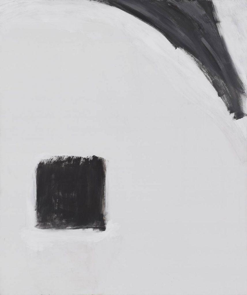 Yudith Levin, Portrait  2, 2014, acrylic on canvas, 180 x 150 cm, unique
