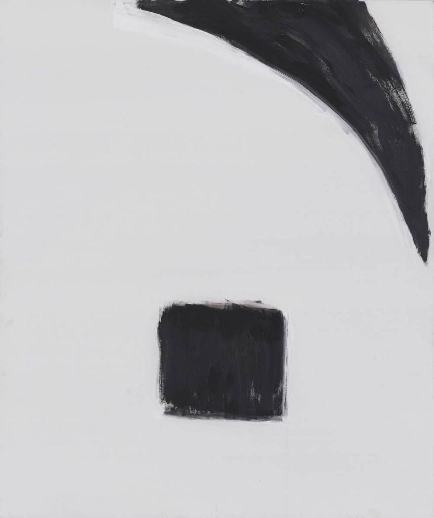 Yudith Levin, Portrait  4, 2014, acrylic on canvas, 180 x 150 cm, unique