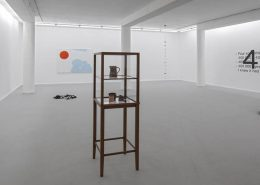 Four Something, 2013, Exhibition view