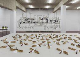 exhibition view, '5775 (Part II)', 2016, Dvir Gallery, Tel Aviv