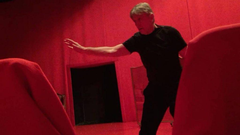 Mircea Cantor, Nascondino, video, 2016, 3 min 33 sec video loop, starring Andrei Serban