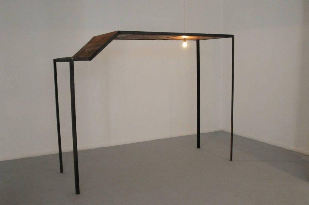 Miroslaw Balka, 255x200x91, 2010, steel, wood, unique