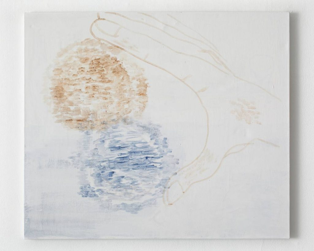 Moshe Mirsky, 2 Quanta, 2010, acrylic on canvas, 85x100 cm, unique