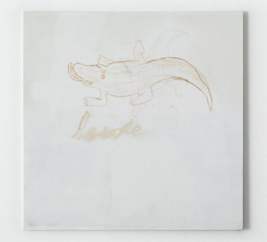 Moshe Mirsky, Untitled, 2011, acrylic on canvas, 100x100 cm