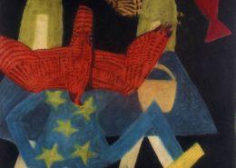 'Untitled (girls)', 2004, pastel on paper, 1150 x 110 cm
