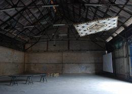 Shooting, 2010, Exhibition View, Hangar