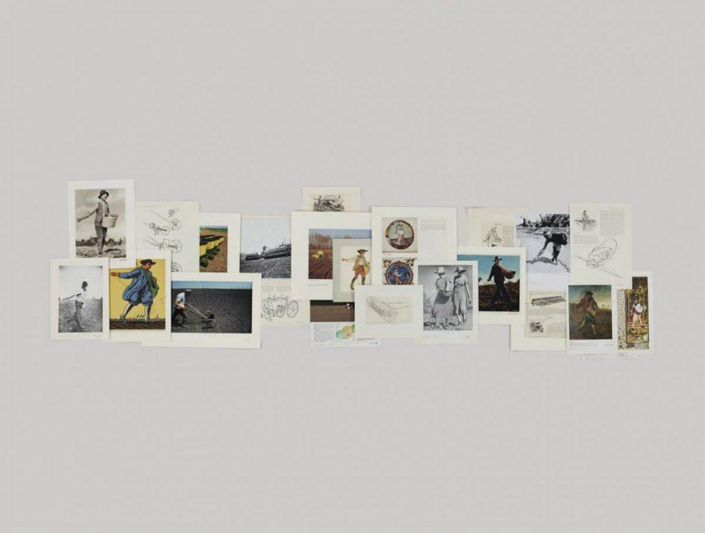 Taryn Simon, Folder Agriculture - Sower, 2012, archival inkjet print, 119.4 x 157.5 cm framed, edition 2 of 5