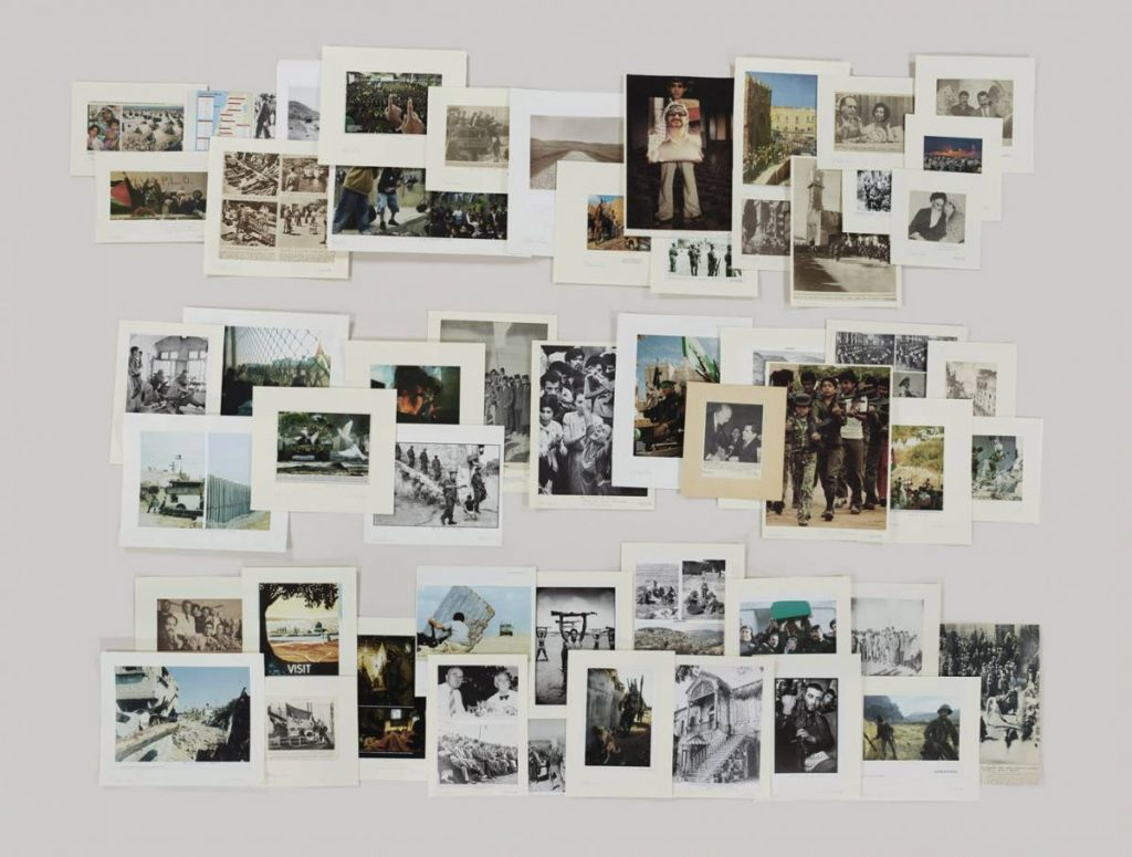 Taryn Simon, Folder Palestine, 2012, archival inkjet print, 119.4 x 157.5 cm framed, edition 2 of 5