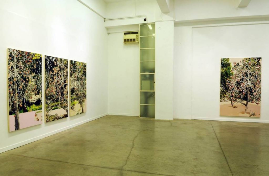Place Filler, 2010, exhibition view