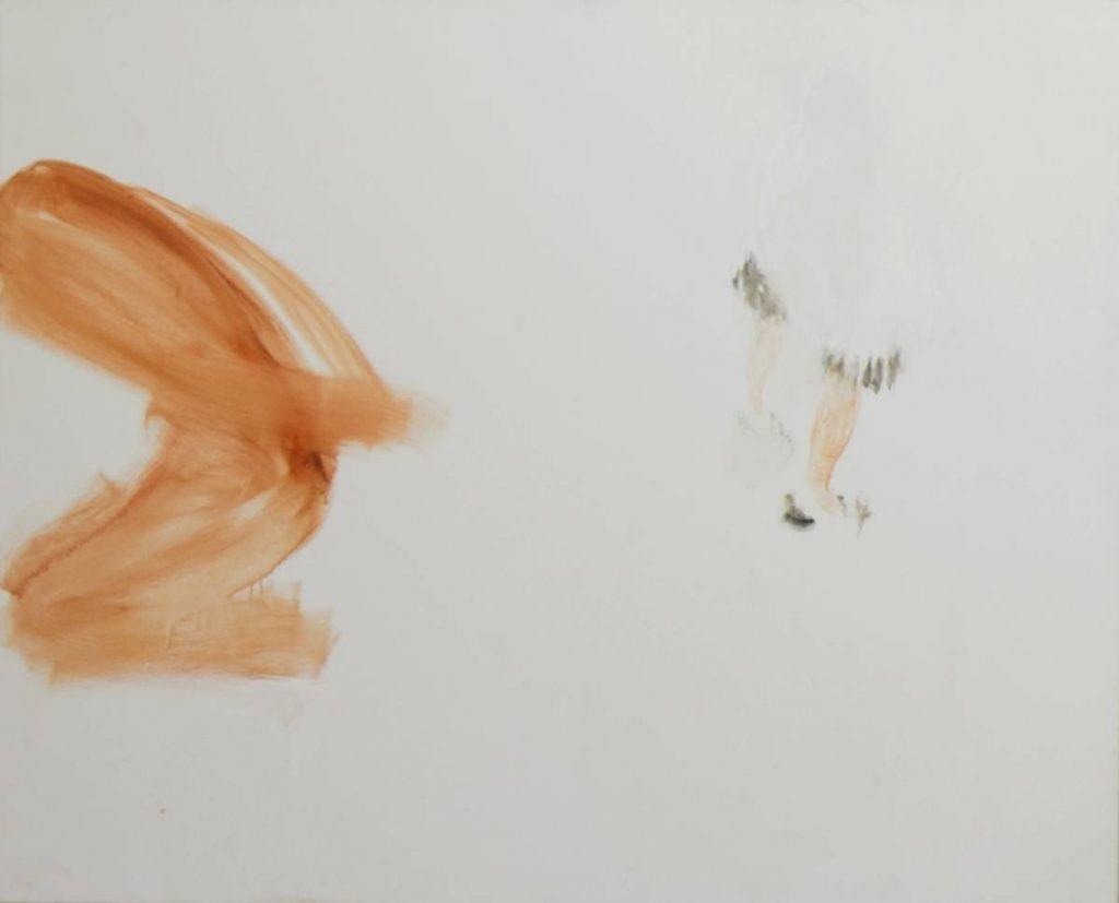 Yudith Levin, Hawara Checkpoint 2, 2007, Acrylic on canvas, 160 x 200 cm, Unique