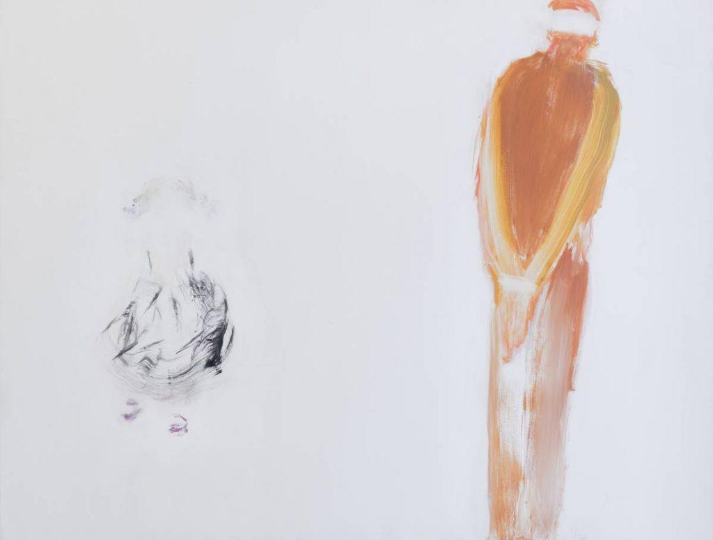 Yudith Levin, Hawara Checkpoint 5, 2007, Acrylic on canvas, 150 x 200 cm, Unique