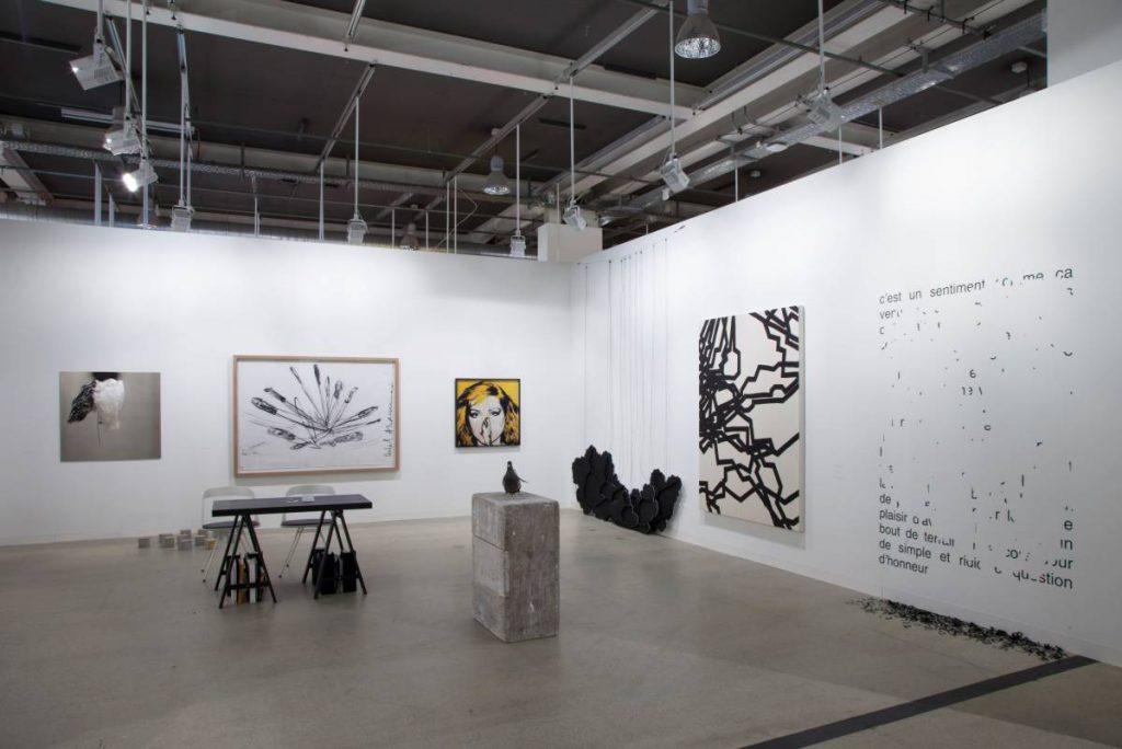 Art Basel 2015, exhibition view
